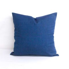 Throw Pillow Made With Sunbrella Spectrum Indigo 48080-0000
