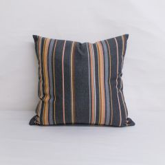 Throw Pillow Made With Sunbrella Stanton Greystone 58002-0000