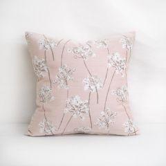 Throw Pillow Made With Sunbrella Stem Blush 145756-0003