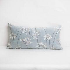 Throw Pillow Made With Sunbrella Stem Sky 145756-0002