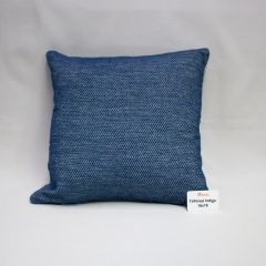 Throw Pillow Made With Sunbrella Tailored Indigo 42082-0017