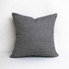 Throw Pillow Made With Sunbrella Tailored Smoke 42082-0004
