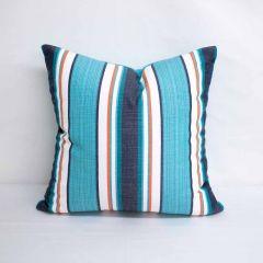 Throw Pillow Made With Sunbrella Token Surfside 58040-0000
