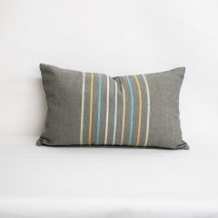 Throw Pillow Made With Sunbrella Viento Mercury 40332-0005