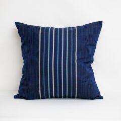Throw Pillow Made With Sunbrella Viento Nautical 40332-0006